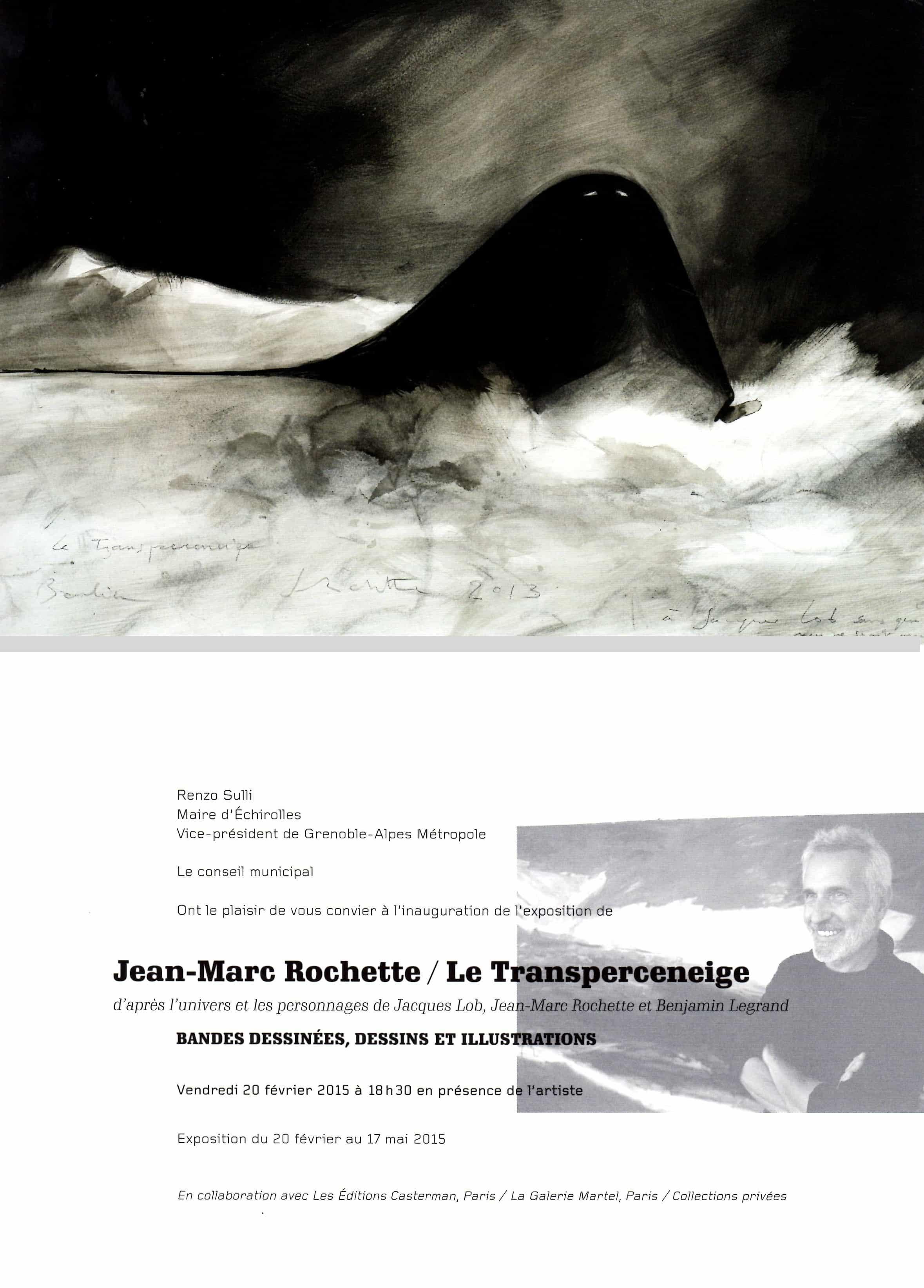 Jean-Marc Rochette au musée Géo-Charles à Échirolles à partir du 20 février