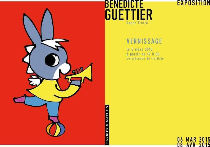 Bénédicte Guettier inaugure le 5 mars son exposition chez Barbier Mathon