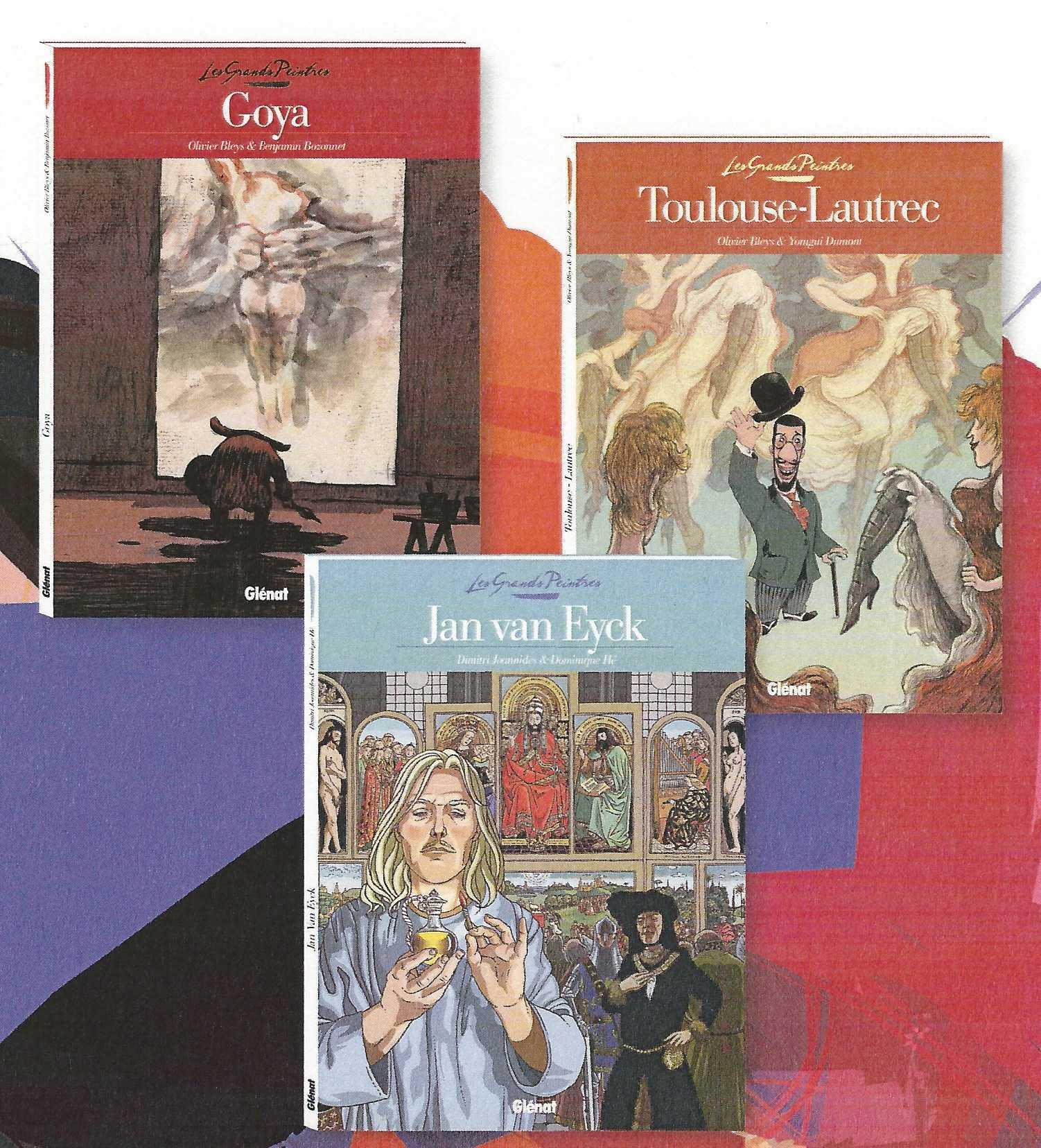 Les Grands Peintres, une nouvelle collection Glénat pour mieux apprécier un art majeur