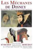 Ils sont méchants, ils sont Disney et s'exposent chez Arludik à Paris
