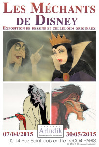 Expo Les Méchants de Disney