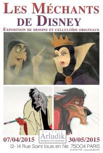 Expo Les Méchants de Disney