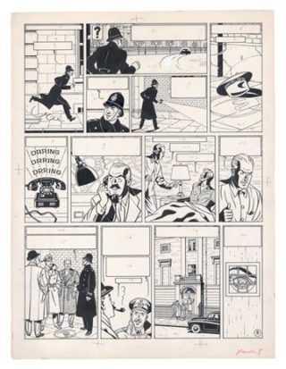 Des records pour Jacobs et Hergé aux ventes Christie's et Maghen