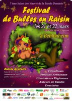 Bulles en Raisin, Francis Bergèse sera au festival les 21-22 mars à Beblenheim en Alsace