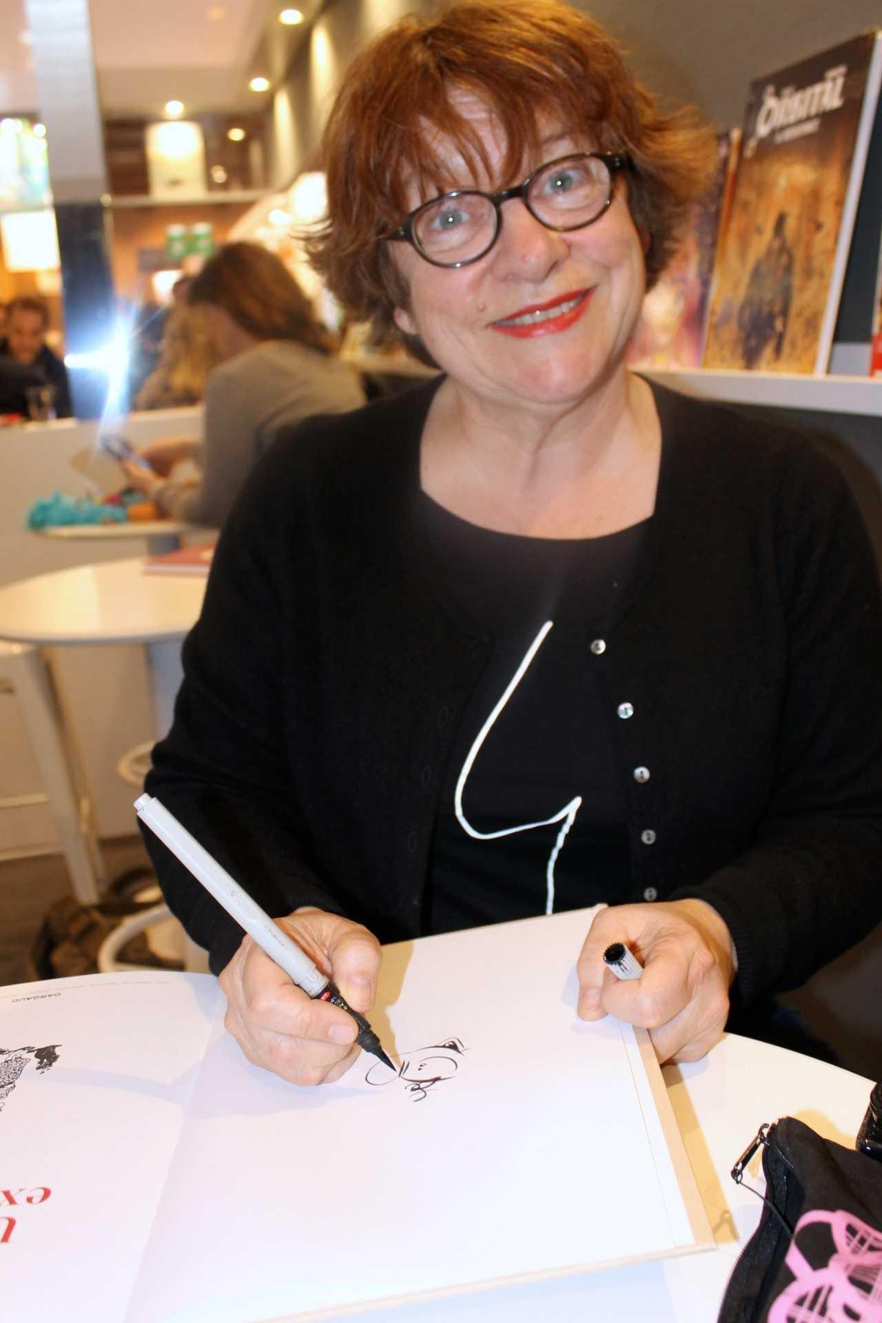 Florence Cestac en dédicace chez BD & Cie le samedi 28 Avril à Narbonne