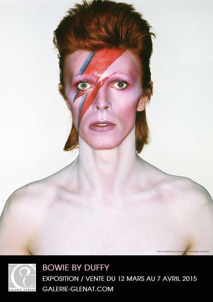 Bowie à la Philarmonie, un album photo chez Glénat plus une exposition à la galerie