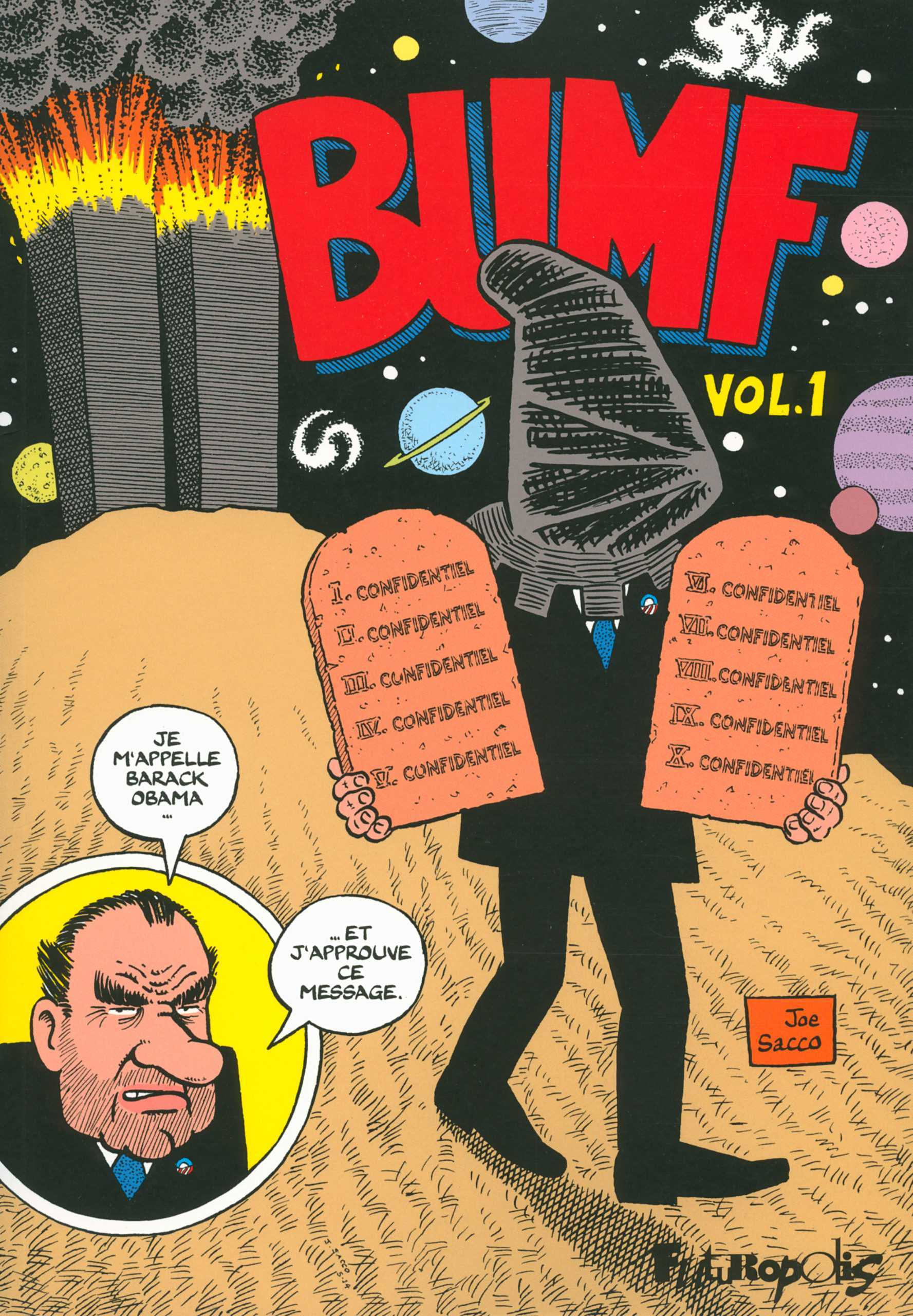 Bumf, Joe Sacco et Nixon, un beau bilan