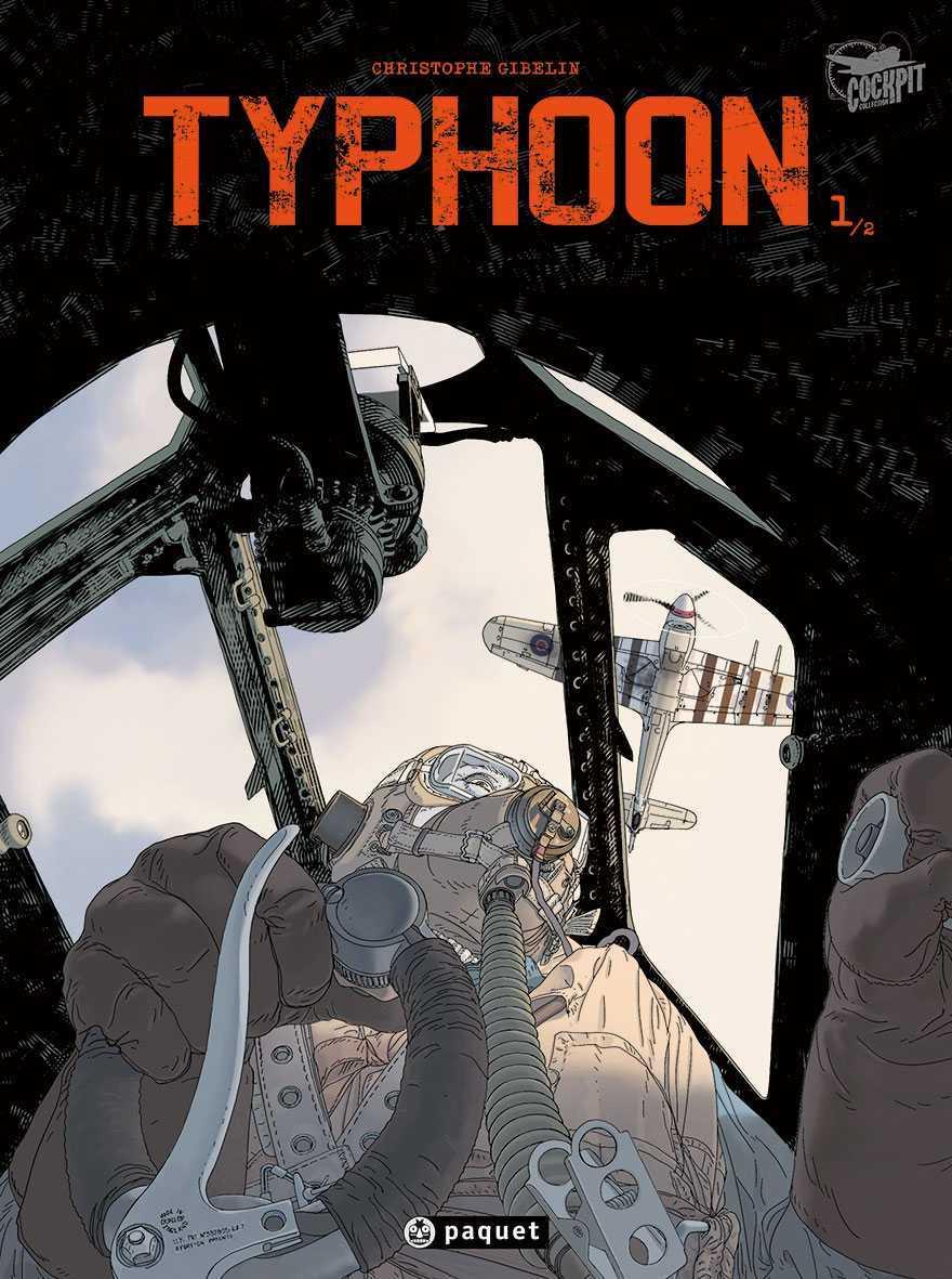 Typhoon, le retour de Christophe Gibelin pour une superbe histoire de pilotes