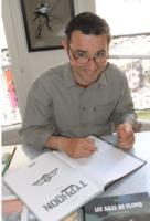 Christophe Gibelin était chez Azimuts à Montpellier et le 25 à Alès en dédicace