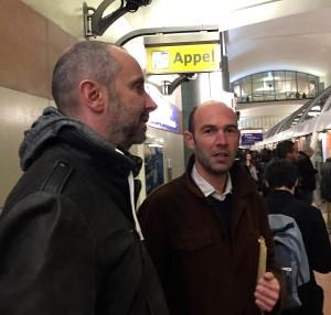 Jean-Christophe Chauzy et Nicolas de Crécy