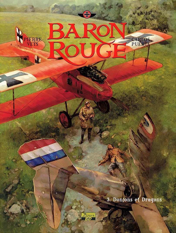 Baron Rouge T3, Von Richthofen, un As au destin ambigu