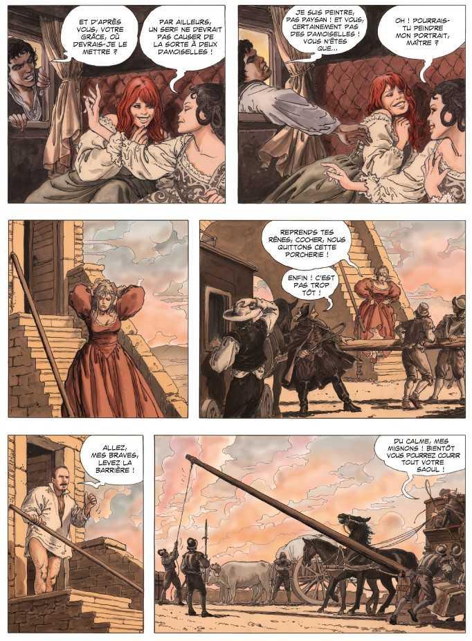 La palette et l'épée