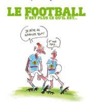 Le football n'est plus ce qu'il est… par Lefred-Thouron en pleine forme