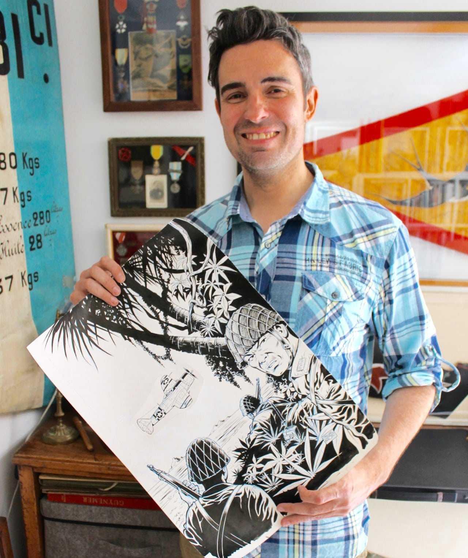 """Exclusif : la Une du prochain Buck Danny """"Classic"""" Les Fantômes du Soleil Levant dessiné par Arroyo"""