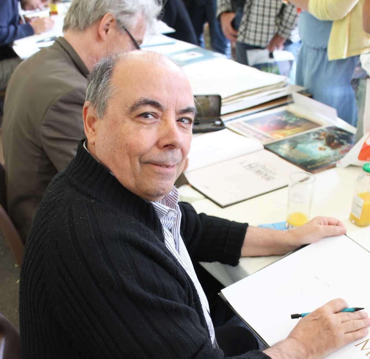Pour les 48H BD, Gine, Jim et Alain Janolle en dédicace chez Sauramps les 6 et 7 avril