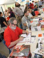 Palette d'auteurs à la Comédie 2015 sur l'Esplanade à Montpellier