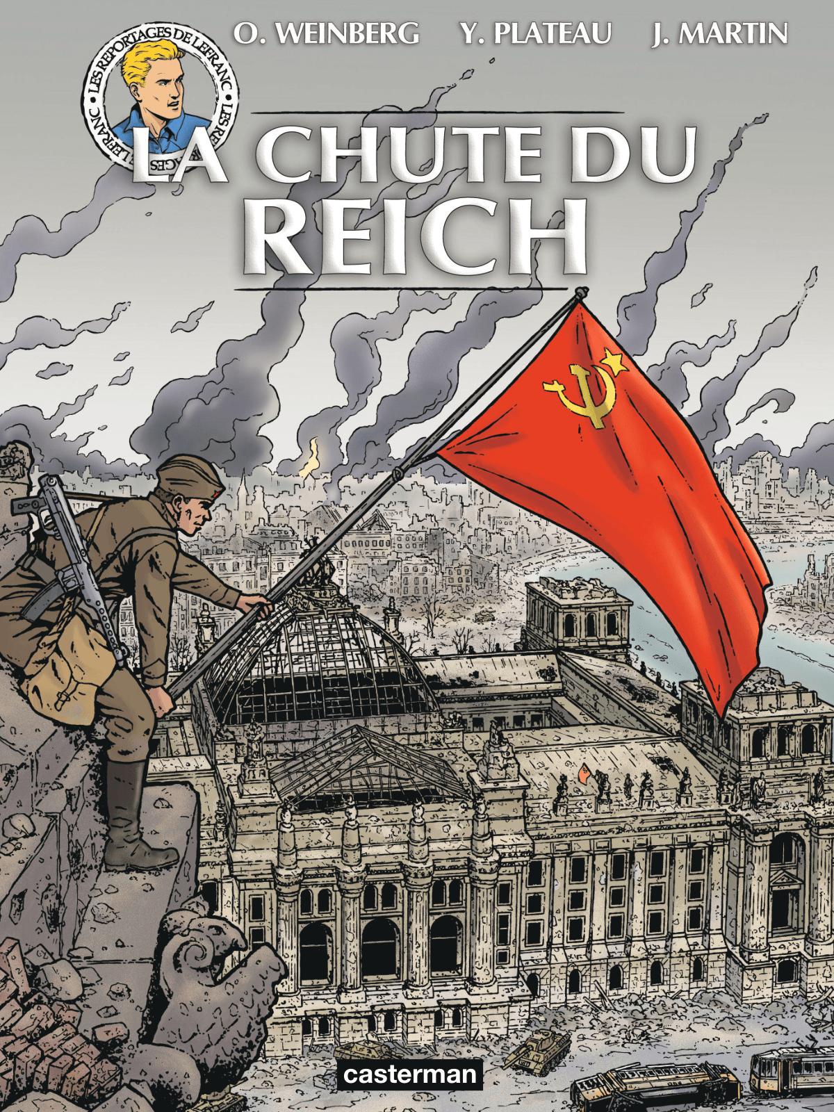 La Chute du Reich, un nouveau reportage de Lefranc en ce 8 mai
