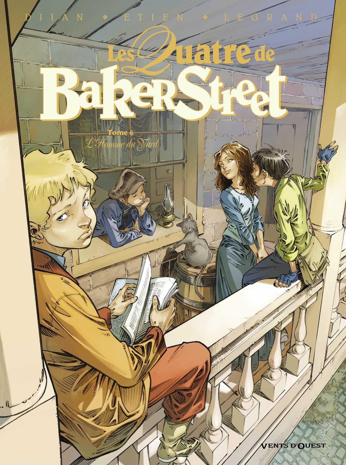 Les Quatre de Baker Street T6, Sherlock Holmes n'est pas mort