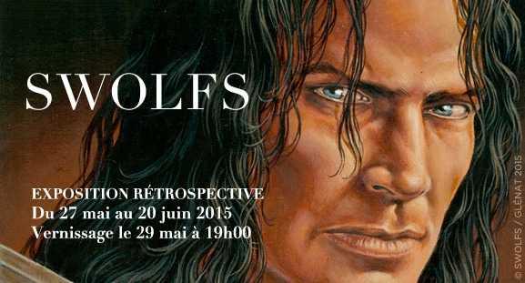 Yves Swolfs et le Prince de la nuit chez Maghen à Paris