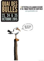 Quai des Bulles 2015, ce sera du 23 au 25 octobre à Saint-Malo