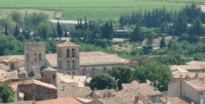 Expos à l'abbaye de Caunes Minervois