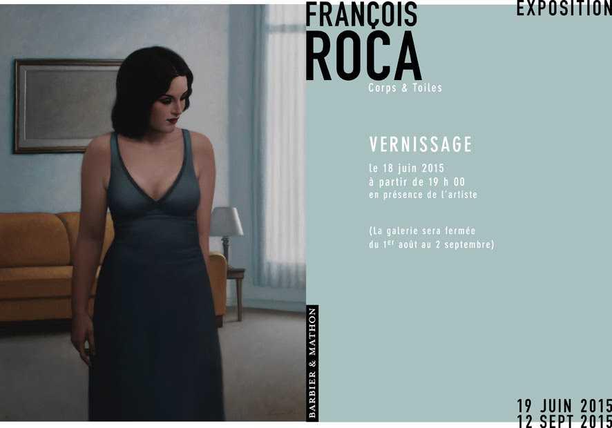 François Roca chez Barbier et Mathon à Paris