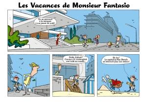 Les vacances de Monsieur Fantasio