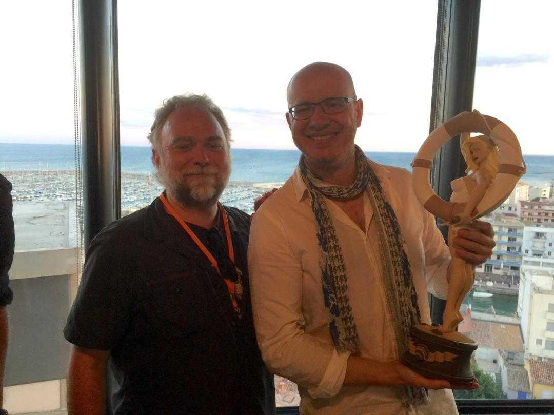 Alex Alice Grand Prix du festival BD de Palavas 2015 pour Le Château des Étoiles