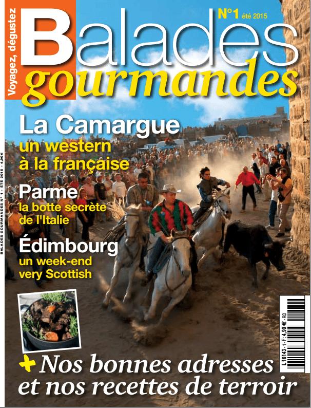 Balades Gourmandes en Camargue et Loustal invité pour le premier numéro