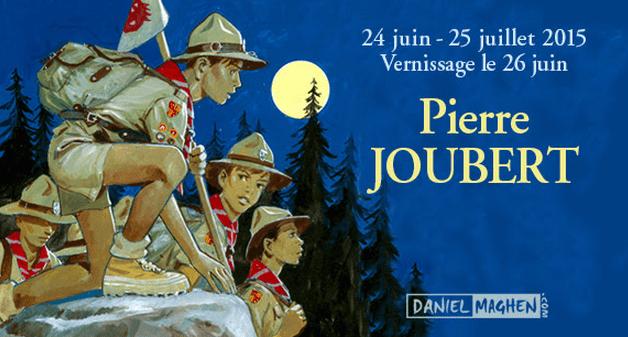 Une exposition Pierre Joubert avec Signe de Piste chez Maghen
