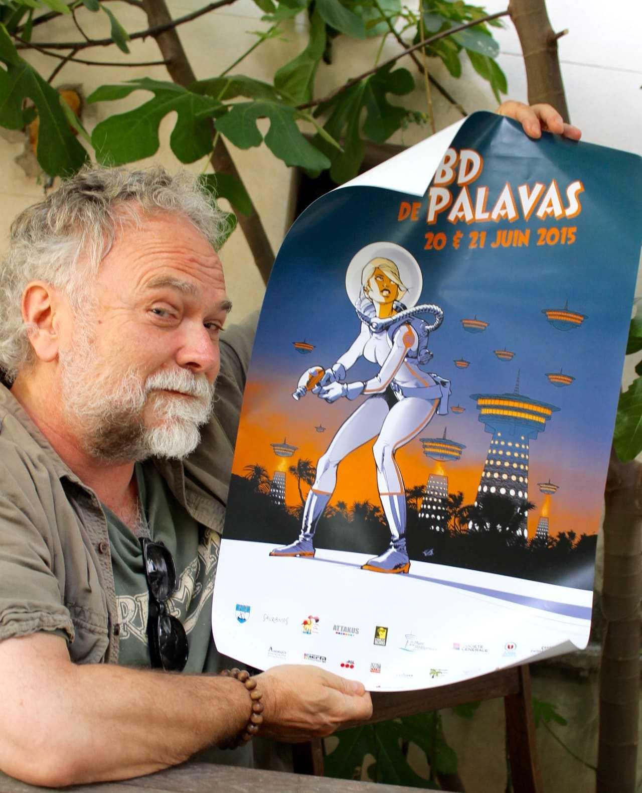 Les 20 et 21 juin, Olivier Vatine préside le festival de Palavas et présente le projet Infinity avec Lewis Trondheim