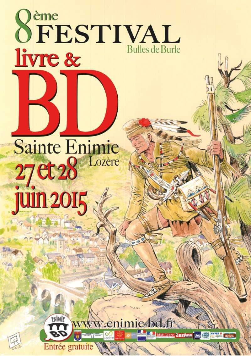 Festival Livre & BD de Sainte-Enimie 2015