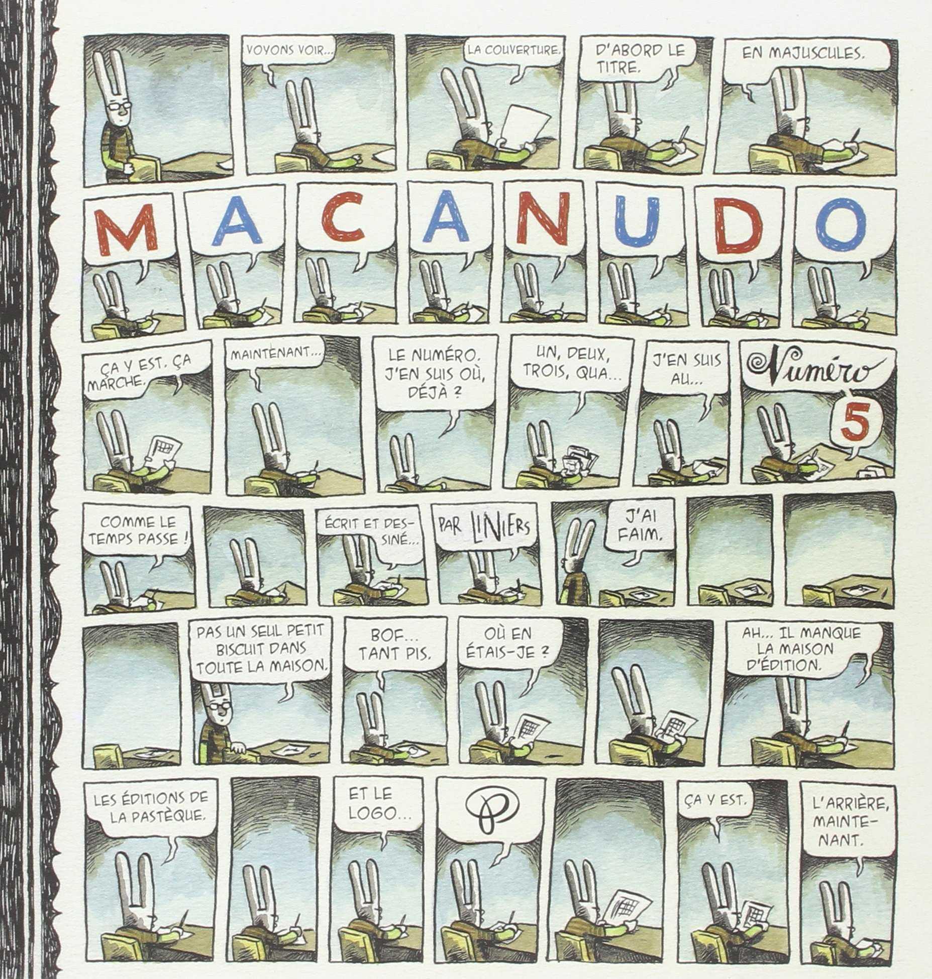 Macanudo 5, le monde poétique de Liniers