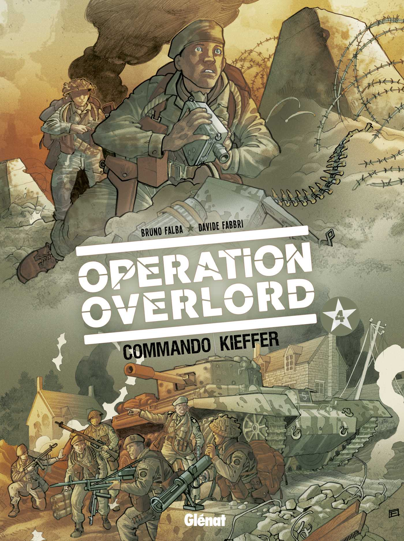 Opération Overlord T4, le commando Kieffer le 6 juin 44
