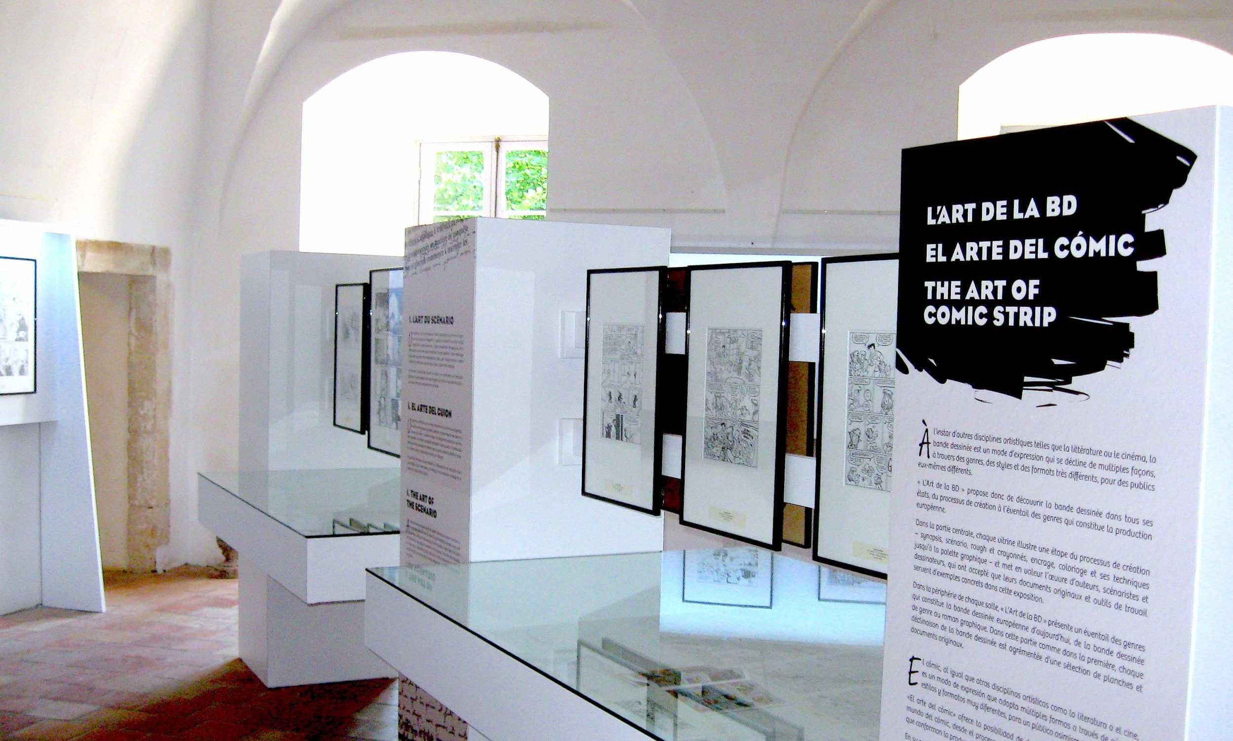 La BD s'expose tout l'été à l'abbaye de Caunes Minervois