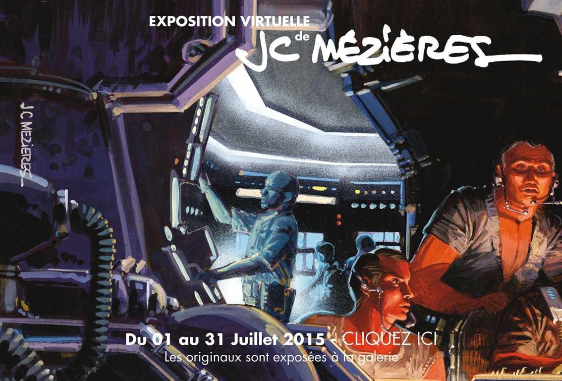 Mézières s'expose à la galerie Oblique à Paris