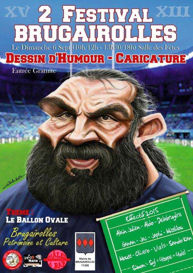 Brugairolles, le 2e Festival du dessin d'humour et de la caricature c'est le 6 septembre