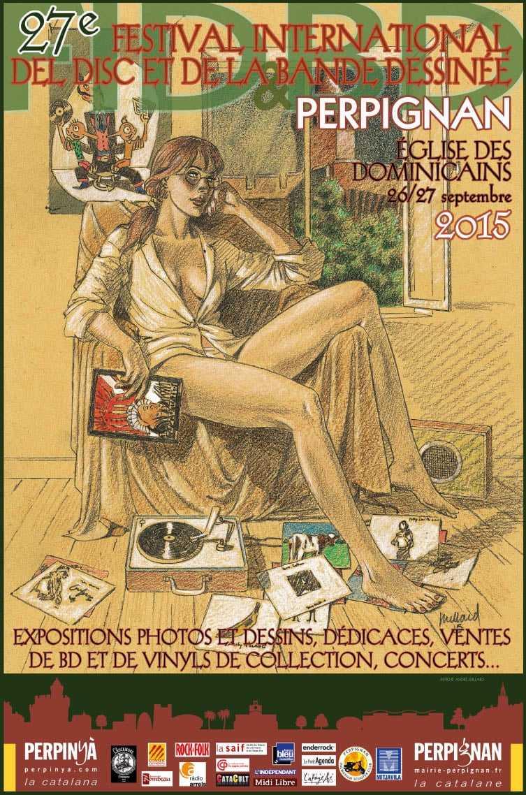 Festival international del disc et de la bande dessinée de Perpignan 2015