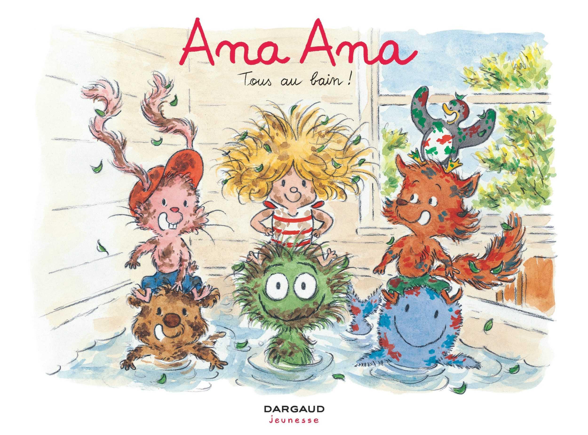 Jeunesse : la sélection avec un souriceau, Ana Ana, Archibald, Julia et Violette