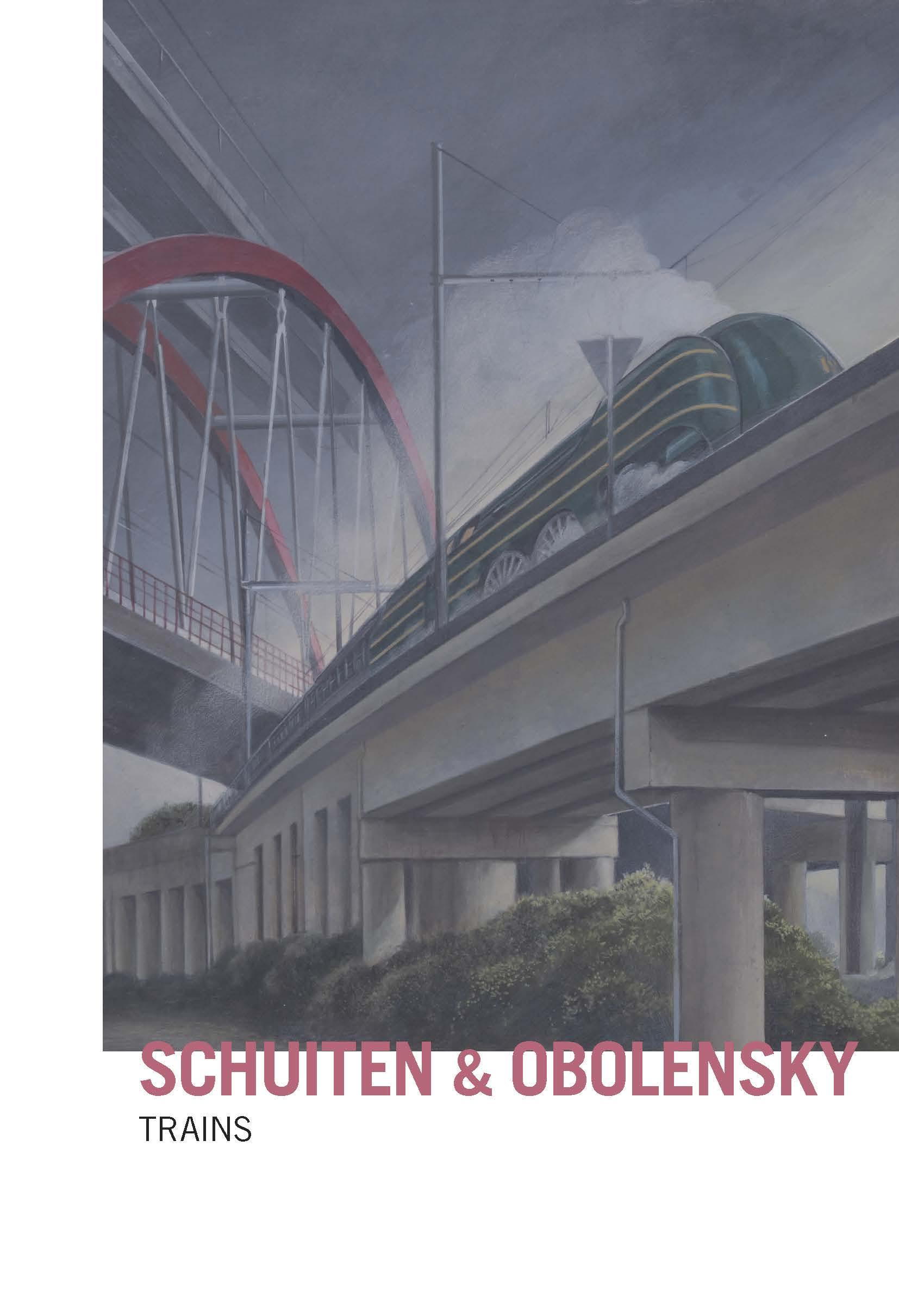 Trains : Schuiten et Obolensky s'exposent à Bruxelles