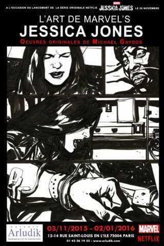 L'Art de Jessica Jones chez Arludik le 3 novembre