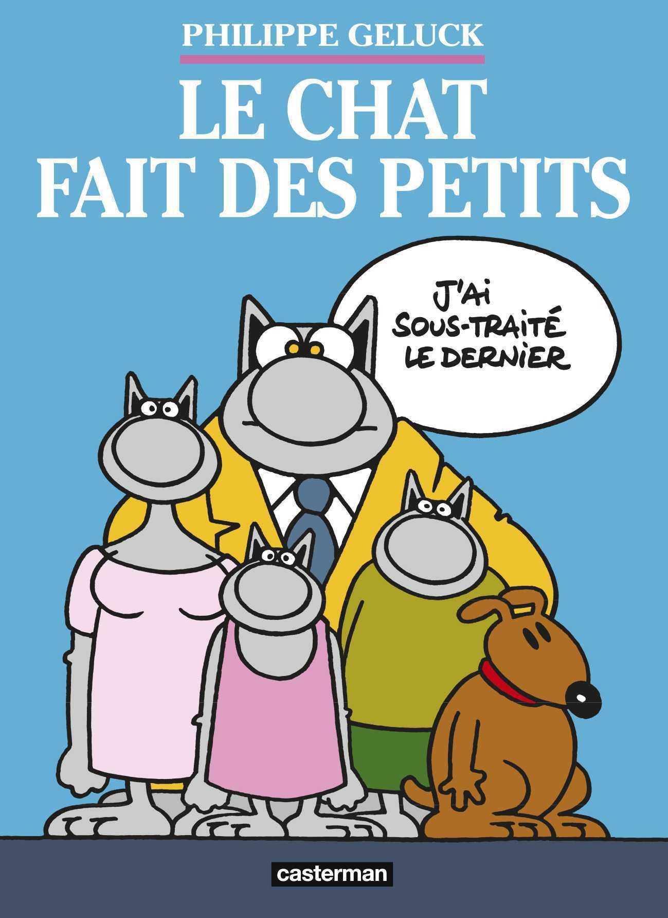 Le Chat fait des petits, Geluck encore et toujours dévoile la famille de son héros