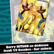 Barry Kitson en dédicace chez Planètes Interdites à Montpellier le 29 octobre