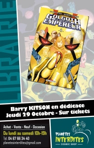 Barry Kitson à Montpellier