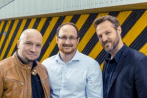 Nicolas Mitric, Rémi Guérin et Olivier Peru