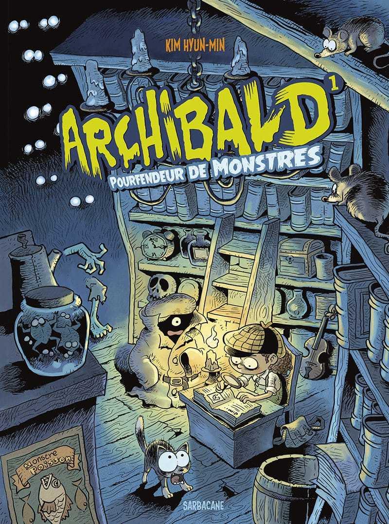 Archibald, pourfendeur de monstres