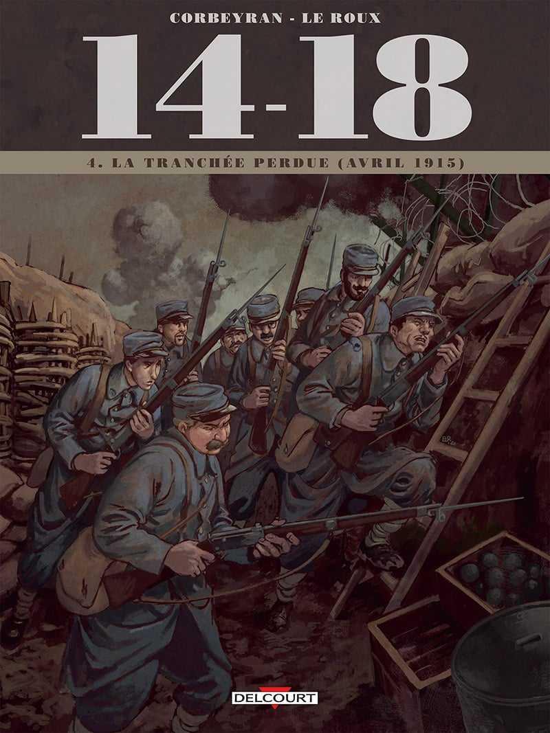14-18 T4 : le gaz, nouveau ennemi mortel