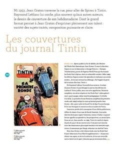 Les couvertures du journal Tinitin