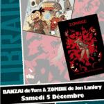 Tom et Jon Lankry en dédicace chez Planètes Interdites à Montpellier le 5 décembre