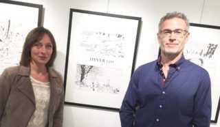 Philippe Xavier et Nathalie Sergeef à Montpellier le 12 mars chez Planètes Interdites